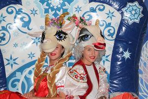 """Новогодние Козы на слете-семинаре ведущих """"Гелиос"""""""