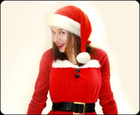Фартук Санта