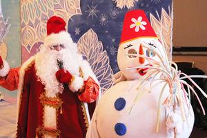 Снеговики на Зимней сказке