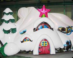 Декорация Новогодний Лес