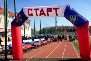 Спортивные соревнования 55 дивизии ВВ МВД РФ