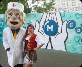 Открытие детского отделения клиники МЕДСИ