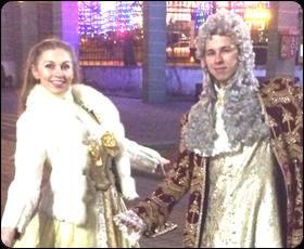 Исторические костюмы в Екатерининском парке
