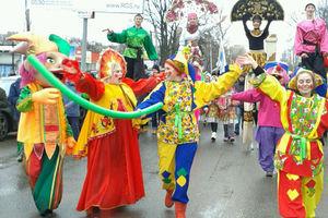 Масленичное шествие в Голицыно