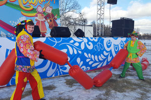 Потешные забавы в Коломенском