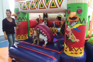 Батут Индеец на детский праздник
