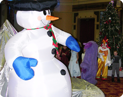 Новогоднее оформление на Зимней сказке
