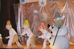 Куклы в Зимней сказке