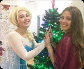 Новый Год с Эльзой и Анной