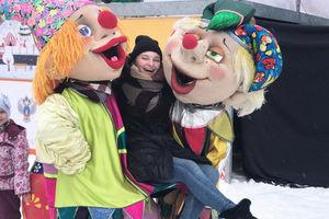 Куклы-Скоморохи на фестивале Выходи гулять!