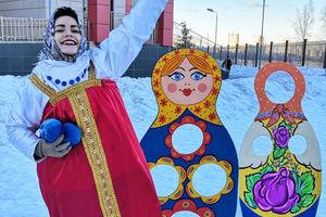 Русские забавы в школе МГУ